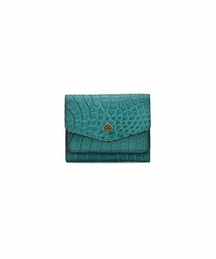 PRIMA PELLE クロコダイル/三つ折り財布